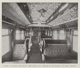 Luxury of Railway Travelling, New First Class Carriage on the London and North Western