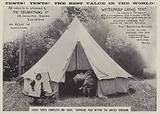 Advertisement, Tents