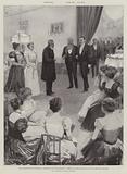 The Bloemfontein Conference, Reception at the Presidency, Meeting of Sir Alfred Milner and President Kruger
