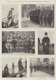 Scenes of the Departure of the City of London Imperial Volunteers