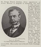 Sir GF Bonham, New British Representative at Belgrade