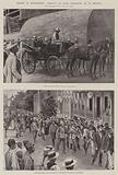 Cronje in Retirement, Arrival of Boer Prisoners at St Helena