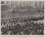 Mafeking Day in Melbourne, the Lieutenant-Governor of Victoria, Sir John Madden, addressing …