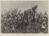 Charge of the Japanese Cavalry among the Bamboos outside Tientsin