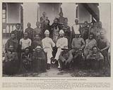 The East American Administration Coronation Guests, Native Chiefs at Mombasa
