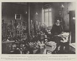 The Death of Professor Virchow, the Famous Scientist in his Laboratory at the Pathological Institute, Berlin