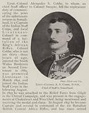 Lieutenant-Colonel A S Cobbe, DSO, Chief of Staff in Somaliland