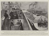 """The International North Sea Investigations, the Inaugural Inspection of the SS """"Huxley"""" at Fresh Wharf, 2 December"""