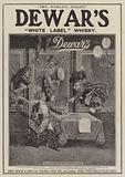 Advertisement, Dewar's White Label Whisky