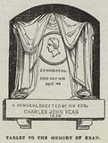 Tablet to the Memory of Kean