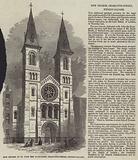 New Church of St John the Evangelist, Charlotte-Street, Fitzroy-Square