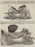 Carriages for the Princess Royal of Wurtemberg