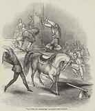 """""""La Lutte des Voltigeurs,"""" at Drury-Lane Theatre"""