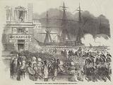 Embarkation of the French President at Marseilles