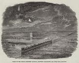 Flood on the Great Northern Railway, between Darlington and Ferry-Hill Stations