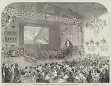 """Mr Albert Smith's """"Ascent of Mont Blanc,"""" at the Egyptian Hall, Piccadilly"""