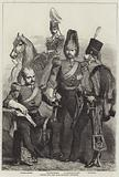 Troops for the War, Cavalry Officers