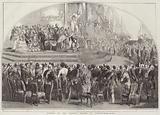 Opening of the Crystal Palace, at Sydenham