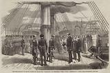 """The Embarkation of Prince Alfred on Board the """"Euryalus"""" on Wednesday Week"""