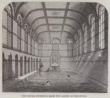 The Royal Swimming-Bath for Ladies at Brighton