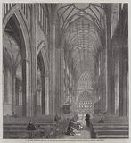 St Mary Bedcliff, Bristol, in Process of Restoration under the Direction of Mr G Godwin, Architect