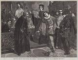 "Trial Scene in ""The Merchant of Venice"""
