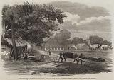 The Cantonment at Barrackpore, India, near the Park of the Governor-General, where Lady Canning lies buried
