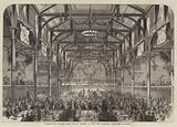 Conservative Banquet given to Mr Disraeli in the Corn Exchange, Edinburgh
