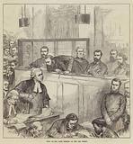 Trial of the Bank Forgers at the Old Bailey