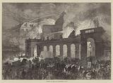 Burning of the Old Opera-House, Paris