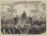 Mr Disraeli delivering his Installation Address as Lord Rector of Glasgow University