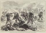 The War in Spain, Attack on the Carlist Position of Santiago Mendi, near San Sebastian