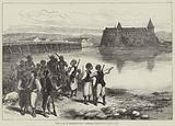 The War in Herzegovina, Turkish Post near Kostanitza