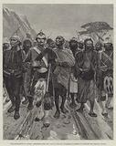 The Occupation of Cyprus, Prisoners from the Gaol at Nicosia escorted to Kyrenia by British and Turkish Troops