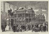 Paris Exhibition, Pavilion of the Prince of Wales's Indian Collection in the Grand Vestibule …