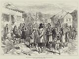 The Austrian Occupation of Herzegovina, Street Scene in Grahovo