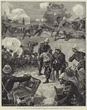 The War in Egypt, the Two Nine-Pounders of the Royal Horse Artillery, 24 August