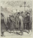 Arrival of Sir Garnet Wolseley at Charing-Cross