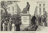 Unveiling the Statue of Thomas Carlyle on the Chelsea Embankment