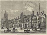 The Royal Courts of Justice, the Carey-Street Front