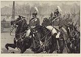 The Royal Review of Troops from Egypt, the Life Guards passing the Queen