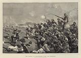 The Battle of Tel-el-Kebir, over the Trenches