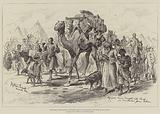 The War in the Soudan, Refugees from Tokar brought into Camp at Trinkitat