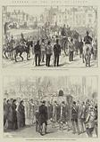 Funeral of the Duke of Albany