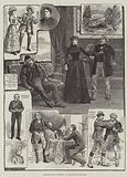 "Sketches from ""Enemies,"" at the Prince's Theatre"