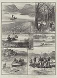 Mugger-Hunting on the Ana-Sagar Lake, Ajmere, India