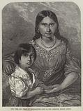 The Wife and Child of Osceola, the Last of the Seminole Indian Chiefs