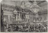 Installation of the Senate and Legislative Corps, in the Salle des Marechaux, Palace of the Tuileries