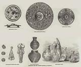 Antiquities, from the Faussett Collection, at Liverpool