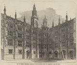 The New Houses of Parliament, Entrance to the Star-Chamber Court, New Palace-Yard